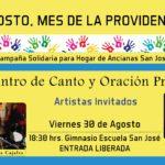 Agosto, Mes de la Providencia y la Solidaridad